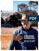 Wind Farms a Guide for Communities