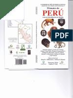Primates Del Perú-Guía de Identificación