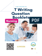 OET Writing Question booklets (Nurses)-S.OET