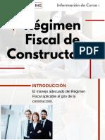 Curso Régimen Fiscal de Constructoras