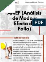 Curso AMEF (Análisis de Modo y Efecto de Falla)