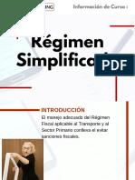 Curso Régimen Simplificado