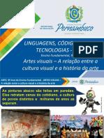 ARTES VISUAIS – A relação entre a cultura visual e a história da arte.pptx