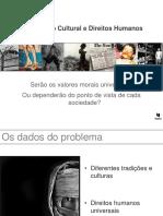 Relativismo Cultural e Os Direitos Humanos