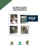 REGLAMENTO TECNICO PARA EVALUACION DE GASES ANESTESICOS.pdf