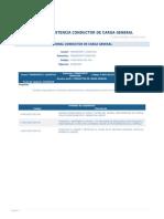 Perfil Competencia Conductor de Carga General