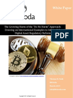 "The Growing Harm of the ""Do No Harm"" Approach - A BitOoda White Paper"