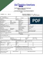 Formulario ISO, De inscripción Personal y por Empresa..xls