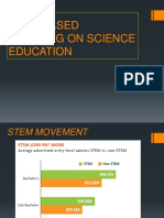 STEM BASED LEARNING ON SCIENCE EDUCATION.ppt