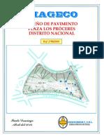 Diseño de Pavimento Plaza Los Proceres.pdf