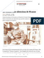 La Batalla Más Silenciosa de Picasso
