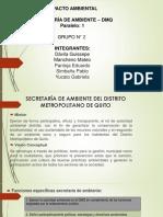 Secretaria de Ambiente_ Grupo 2_ Paralelo 1