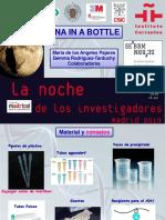 genes en una botella