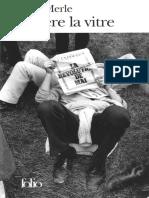 eBook Robert Merle - Derriere La Vitre