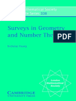 Surveys in Geometry and Number Theory-Nicholas Young