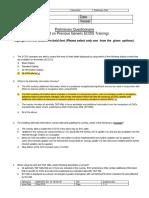 ECDIS Preliminary Questionnaire - MTC Revised