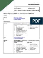 Code Error Exca Volvo | Fuel Injection | High Voltage on