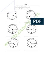 Time Quarter Past And Quarter To Worksheet 1.pdf