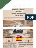 Infografia de Literatura- Generación del 98, Modernismo y Generación del 27 - by Maria Alejandra González [Infographic].pdf