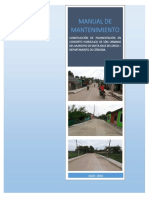 Manual de Mantenimiento Pavimentos