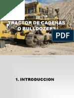 Curso Operación Tractores Bulldozers Tipos Sistemas Componentes Cabina Indicadores Implementos Tren Rodaje Inspección