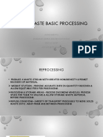 Solid Waste Basic Processing