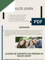 Adulto Joven Expo Psicologia.