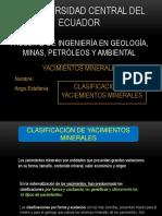 3.-CLASIFICACION YACIMIENTOS