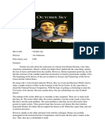 synopsis october sky.docx