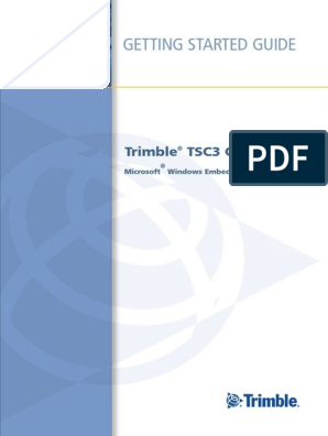 Trimble TSC3 - Manual English Rev C pdf | Wi Fi | Bluetooth