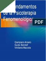 Los fundamentos de la Psicoterapia Fenomenológica - Arciero, traducción.pdf