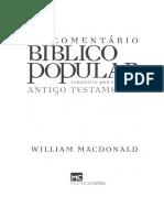 Comentário Bíblico Popular versículo por versículo AT - William MacDonald.pdf