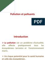 Cours 1 Pollution Et Polluants L3 Toxico626502609