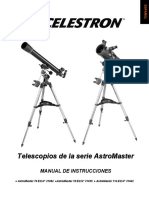 Manual Telescopio Astro Master
