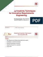 Ppgrube Selecting Creativity Slides