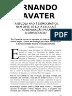 Entrevista Fernando Savater [Atual 30.10.2010]