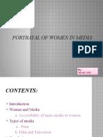 Pottrayal of Women in Media