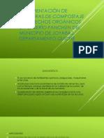 Implementación de Aboneras de Compostaje de Desechos Orgánicos