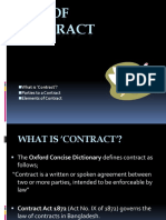 Presentation of Contract-Law