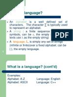 language about complier construction
