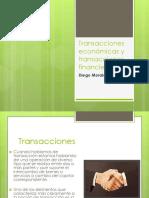 Tema 4 Diego Morales-Transacciones Económicas y Transacciones Financieras