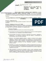 PL 3794 Ley que precisa el carácter vinculante de la Consulta Previa, libre e informada