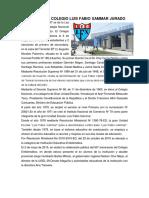 HISTORIA DEL COLEGIO LUIS FABIO XAMMAR JURADO Y HIMNO DE LA REGION LIMA.docx