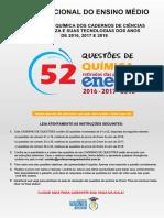 52 QUESTÕES DE QUIMICA ENEM.pdf