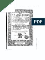 Nicolay Nicolas, Les Navigations, Peregrinations Et Voyages Faicts en La Turquie