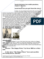 Notes for Happy Prince