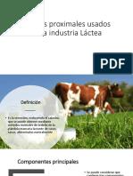Análisis Proximales Usados en La Industria Láctea