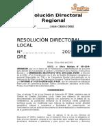 RDR. Reconocimiento de EQUIPO Del PRCE