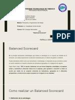 notas para presentacion de Balanced Scorecad UTTAB