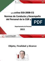 Directiva 010 2008
